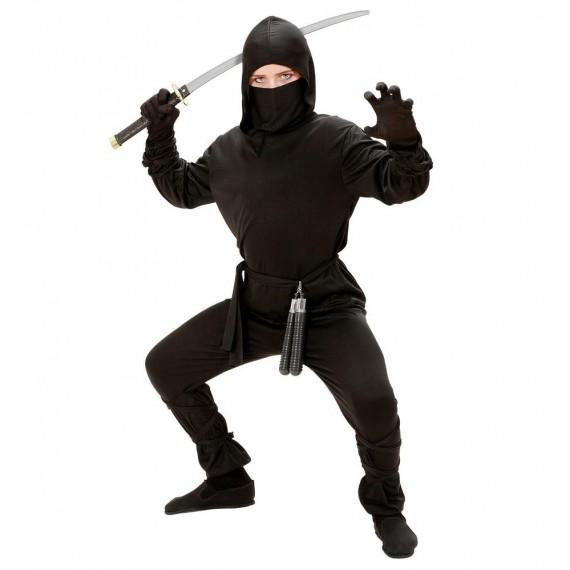 Disfraz de Ninja de color Negro Infantil