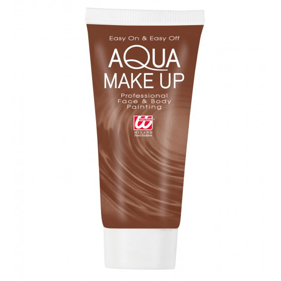 Maquillaje al Agua de 30 Mililitros Varios Colores para Cuerpo y Cara