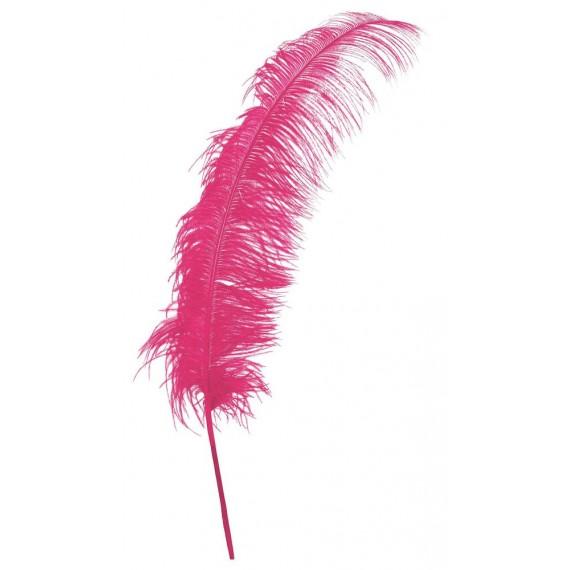 Pluma de Avestruz de 50 Centímetros de color Rosa