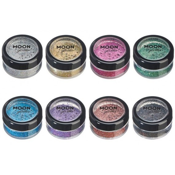Purpurina Suelta Moon Glitter Holographic Color Holográfico