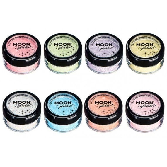 Purpurina Suelta Moon Glitter Pastel de 5 Gramos Color Pastel