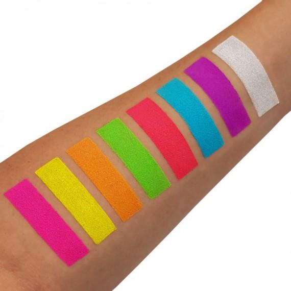 Pigmento Suelto Moon Glow Intense Neon UV de 5 Gramos Color Intenso