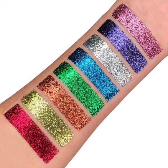 Purpurina Suelta Fina Moon Glitter Classic Fine de 5 Gramos Color Clásico