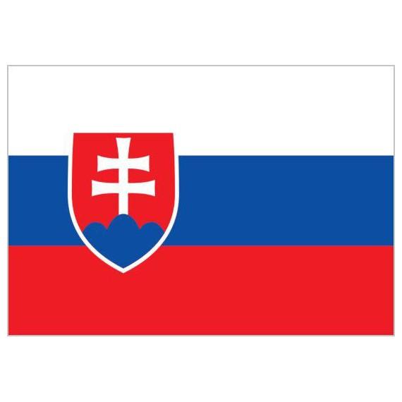Bandera de Eslovaquia de Poliéster Microperforada Reforzada